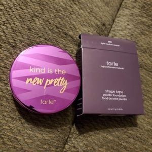 TARTE Shape Tape Powder Foundation LT MED NEUTRAL